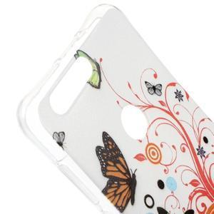 Emotive gelový obal na mobil Honor 8 - motýlci - 3