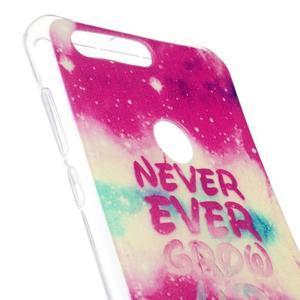 Emotive gelový obal na mobil Honor 8 - never ever - 3
