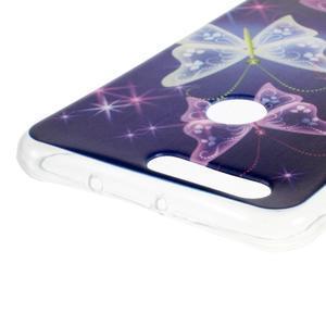 Emotive gelový obal na mobil Honor 8 - kouzelní motýlci - 3