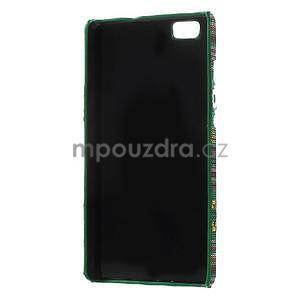 Látkový plastový obal Huawei Ascend P8 Lite - IV - 3