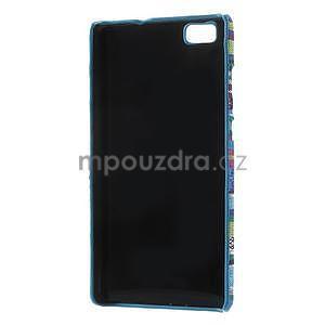 Látkový plastový obal Huawei Ascend P8 Lite - V - 3