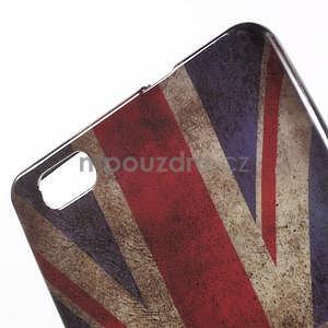 Gelový obal Style na Huawei Ascend P8 Lite - UK vlajka - 3