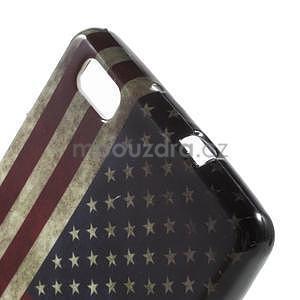 Gelový obal Style na Huawei Ascend P8 Lite - USA vlajka - 3