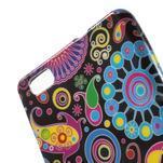 Gelový obal Style na Huawei Ascend P8 Lite - barevné kruhy - 3/4