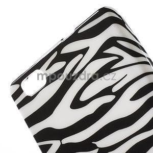 Gelový obal Style na Huawei Ascend P8 Lite - zebra - 3