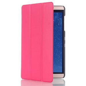Trifold polohovateľné puzdro na tablet Huawei MediaPad M2 8.0 - rosa - 3