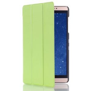 Trifold polohovatelné puzdro na tablet Huawei MediaPad M2 8.0 - zelené - 3