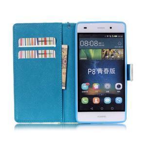 Picture PU kožené puzdro na Huawei P8 Lite - locked - 3