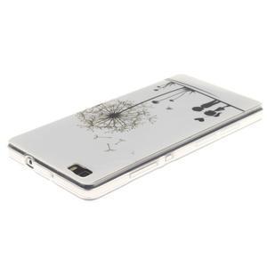 Flexi gelový obal na mobil Huawei P8 Lite - láska - 3