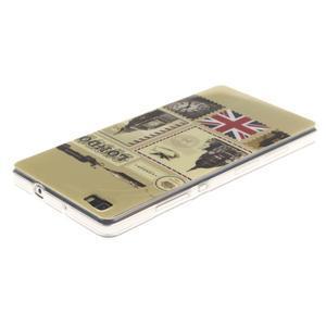 Flexi gelový obal na mobil Huawei P8 Lite - Velká Británie - 3