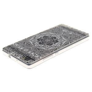 Flexi gelový obal na mobil Huawei P8 Lite - retro mandala - 3