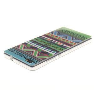 Flexi gelový obal na mobil Huawei P8 Lite - geo tvary - 3