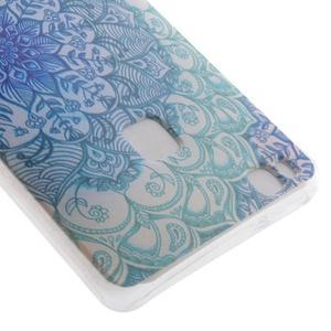 Ultratenký gelový obal na Huawei P9 Lite - mandala - 3