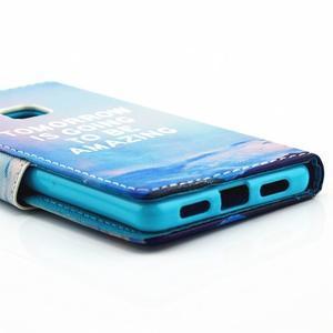 Knižkové puzdro na mobil Huawei P9 Lite - tomorrow - 3