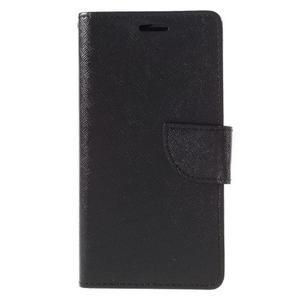 Easy peněženkové pouzdro na mobil Huawei P9 Lite - černé - 3