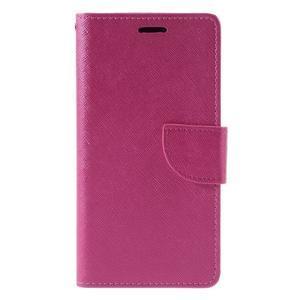 Easy peněženkové pouzdro na mobil Huawei P9 Lite - rose - 3
