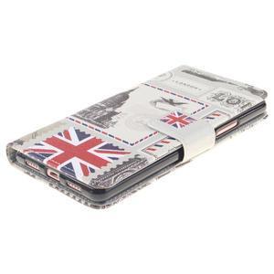 Knížkové PU kožené pouzdro na Huawei P9 Lite - United Kingdom - 3