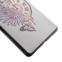 Softy gelový obal na mobil Huawei P9 Lite - antické hodiny - 3/5
