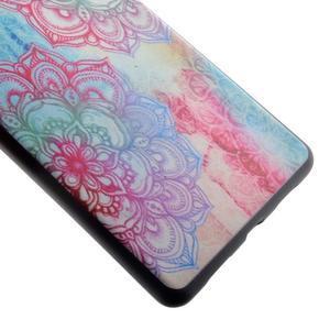 Softy gelový obal na mobil Huawei P9 Lite - lotus - 3