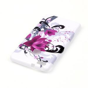 Emotive gelový obal na mobil Huawei P9 Lite - květy - 3