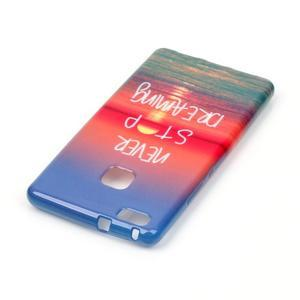 Emotive gelový obal na mobil Huawei P9 Lite - nepřestávej snít - 3