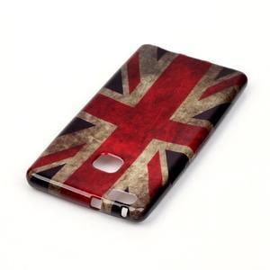 Emotive gelový obal na mobil Huawei P9 Lite - UK vlajka - 3