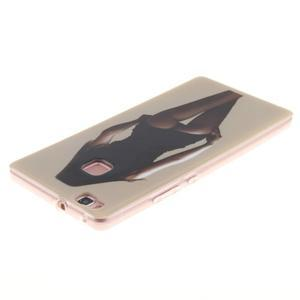 Gelový obal na Huawei P9 Lite - sexy dívka - 3