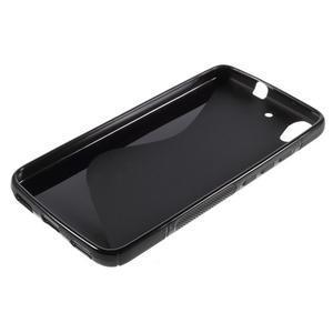 S-line gelový obal na mobil Huawei Y6 - černý - 3