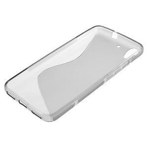 S-line gelový obal na mobil Huawei Y6 - šedý - 3