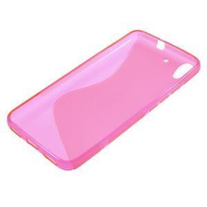 S-line gelový obal na mobil Huawei Y6 - rose - 3