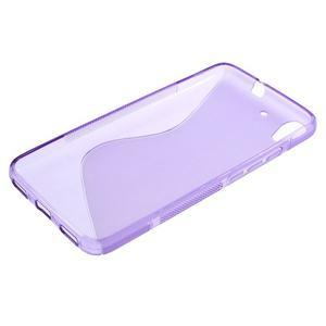 S-line gelový obal na mobil Huawei Y6 - fialový - 3