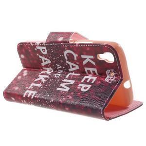 Emotive pouzdro na mobil Huawei Y6 - Keep Calm - 3