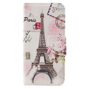 Emotive peněženkové pouzdro na mobil Huawei Y6 Pro - Eiffelova věž - 3