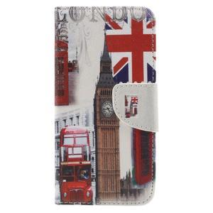 Emotive peňaženkové puzdro na mobil Huawei Y6 Pro - Big Ben - 3
