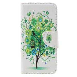 Emotive peněženkové pouzdro na mobil Huawei Y6 Pro - zelený strom - 3