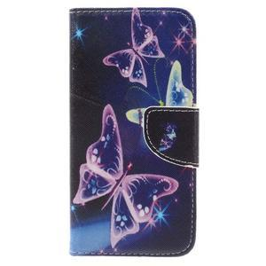Emotive peněženkové pouzdro na mobil Huawei Y6 Pro - kouzelní motýlci - 3