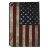 Štýlové puzdro pre iPad mini 4 - US vlajka - 3/7