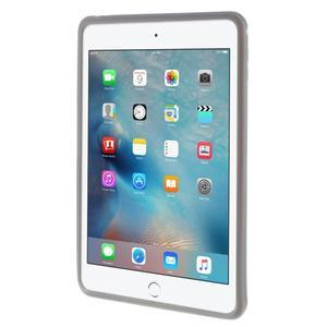Silikonový obal na tablet iPad mini 4 - šedý - 3