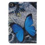 Stylové pouzdro na iPad mini 4 - modrý motýl - 3/7