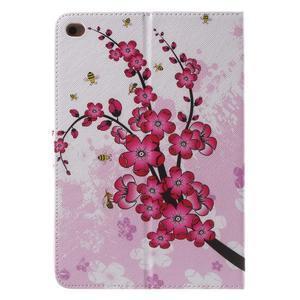 Štýlové puzdro pre iPad mini 4 - kvetoucí vetvička - 3