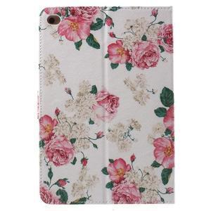 Štýlové puzdro pre iPad mini 4 - kvetiny - 3