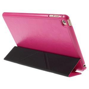 Origami polohovateľné puzdro pre iPad mini 4 - rose - 3