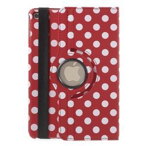 Cyrc otočné puzdro pre iPad mini 4 - červené - 3