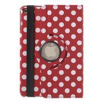 Cyrc otočné puzdro pre iPad mini 4 - červené - 3/7