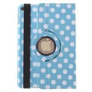 Cyrc otočné puzdro pre iPad mini 4 - svetlo modré - 3