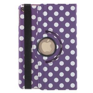 Cyrc otočné puzdro pre iPad mini 4 - fialové - 3