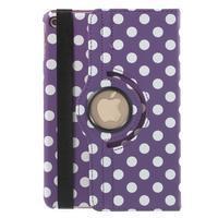 Cyrc otočné puzdro pre iPad mini 4 - fialové - 3/7