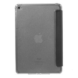 Trifold trojpolohový puzdro pre tablet iPad mini 4 - čierne - 3