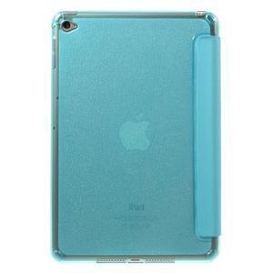 Trifold trojpolohový puzdro pre tablet iPad mini 4 - modré - 3
