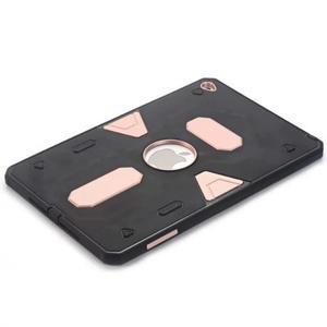 Outdoor dvoudílný gélový/plastový obal pre iPad mini 4 - ružovozlatý - 3